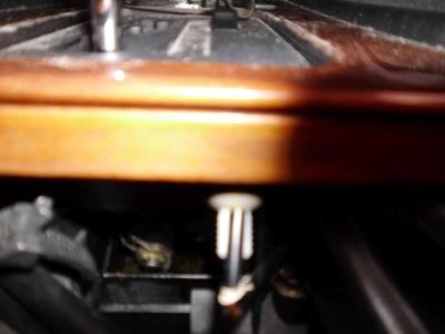 W126 Schaltkulissen-Beleuchtung erneuern.